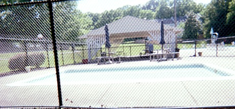Empty kid's pool.