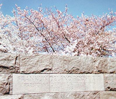 FDR Memorial sign