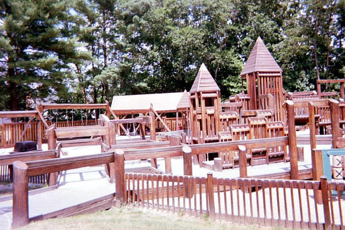 Fantasy playground for kids.