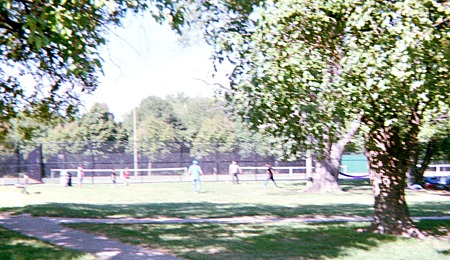 Adult funny ringtones and sports in the park.