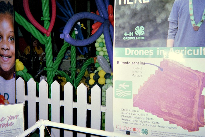Drones in agriculture inspire creativity.