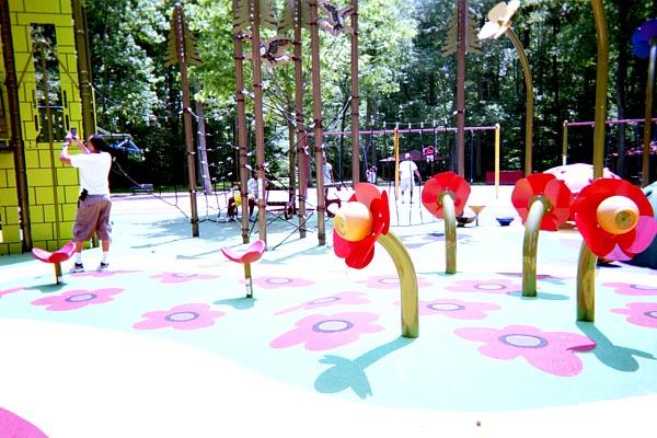 Wizard of Oz Playground at Watkins Regional Park.